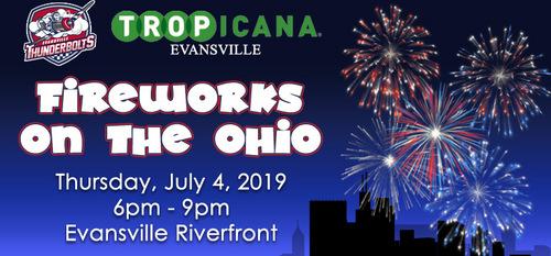 Fireworks on the Ohio
